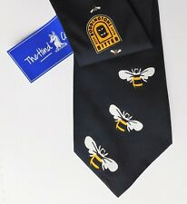 More details for boddingtons bitter tie with bee design whitbread brewery beer new hind cream