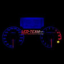 Kawasaki ZZR/GTR 1400 BJ 06-17 Motorrad Tachoumbau Umbau LED Set BLAU LED-Team