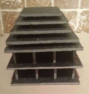 6 Cave in 1 Breeding slate cave set for bristlenose, pleco + fry saver cory