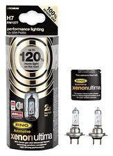 H7 alogene RING 120% Xenon Ultima Lampade Pere 12v 55w con xenongas