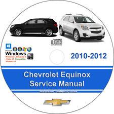 Chevrolet Equinox 2010 2011 2012 Factory Workshop Service Repair Manual