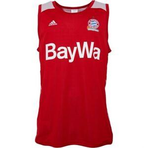 adidas FC Bayern Munich Reversible Basketball Jersey Sizes M, L, 3XL RRP £50