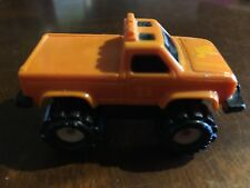 Vintage McDonald's Happy Meal Stomper Orange Truck 1986 Schaper