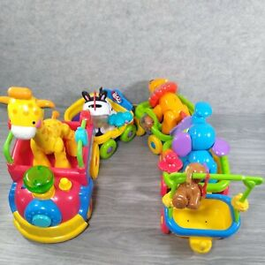 Fisher Price Amazing Animals Sing & Go Choo Choo Train with 5 animals...Works!!