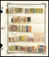 Argentina Revenue Stamp Collection Organized by City