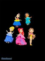Disney Princess Mini Small Dolls Lot Little Kingdom Ariel Belle Cinderella (5)