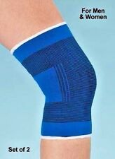 2x Elastic Neoprene Knee Support Strap Injury Arthritis Gym Sport Running sprain