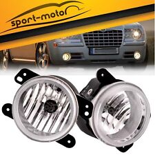 2005-2010 CHRYSLER 300 PT CRUISER OEM FOG LIGHTS LIGHTBAR LIGHT BAR LAMP CLEAR