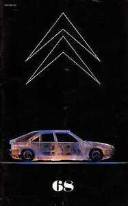 LE DOUBLE CHEVRON 68 1982 CITROEN VISA GT TROPHEE VISA INTERNATIONAL GS BIROTOR