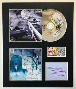 EMINEM - Signed Autographed - THE SLIM SHADY LP - Album Display