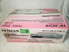 NEW Hitachi DV-PF2U DVD VHS Player 4 Head Hi Fi VCR Combo
