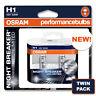 H1 OSRAM NIGHT BREAKER UNLIMITED JAGUAR X-TYPE 01- HIGH BEAM HEADLIGHT BULBS
