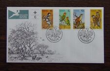 South West Africa 1974 Rare Birds set on First Day Cover