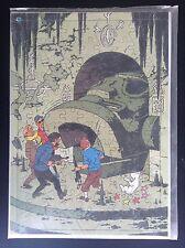 Rare Ancien puzzle du chèque Tintin des années 70 Vol 714 Sydney NEUF