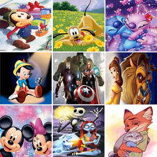 Full Drill 5D Diamond Painting Embroidery Cross Craft Kits Art Mickey Characters