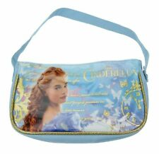Disney Princess Cinderella Girls Baby Blue Gold Butterflies Handbag Bag