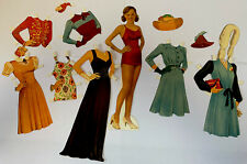 Vintage Bathing Beauty PAPER DOLL w/CLOTHES & ACCESSORIES