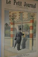 Le Petit Journal Supplémént illustré / 7 aout 1898 / Affaire Zola