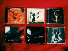Moonspell uncomplete collection 1 rare single 6 CD gothic doom black metal lot