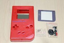 Red New Shell Replacement Housing Case Original Nintendo Game Boy DMG 01