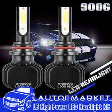 LED 9006 Headlight Conversion Bulbs 400W Light Bulb For 2004-2006 Acura TL