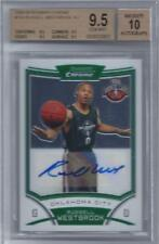 2008-09 Russell Westbrook Bowman Chrome Auto RC... BGS 9.5 w/quad 9.5 subs