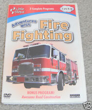 Little Steps: Adventures with Fire Fighting (DVD, 2009)