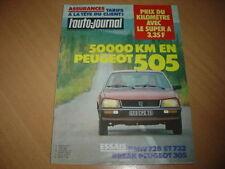 AJ N°5 1980 505 STi.BMW 728i et 732i.