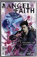Angel & Faith Season 10 #1 - Scott Fischer Cover - Will Conrad Art - 2014