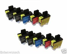 10 Printer Cartridges XL for Brother DCP110C DCP315CN DCP115C MFC-5840CN LC900
