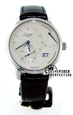 Glashutte Original PanoReserve Manual Wind 40mm Silver Watch 65-01-22-12-04