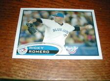 Ricky Romero Blue Jays 2012 Topps #594