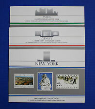 United Nations: 1984 Annual Collection with MNH stamps
