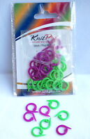 Knitpro Split Ring Stitch Markers Pack of 30 - Two Colours KP 10804