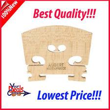"Genuine Aubert Violin Bridge 4/4  ""Made in France"""