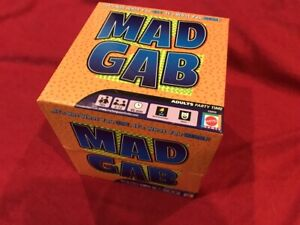 2015 MAD GAB  by Mattel Adult Party Game (G6850) 2 - 12 Players