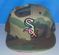 NWT New Era 59Fifty CHICAGO WHITE SOX Camo Fitted Mens Hat Cap Size 7 1/4