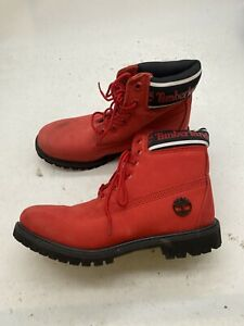 TIMBERLAND WOMEN'S PREMIUM 6 INCH NUBUCK LEATHER BOOTS A27HJ Size 7 Y751