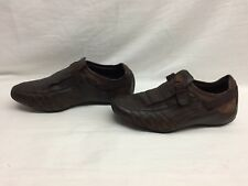 PUMA Men's Vedano Leather Slip-On Shoe Coffee/Brown size 7 US G