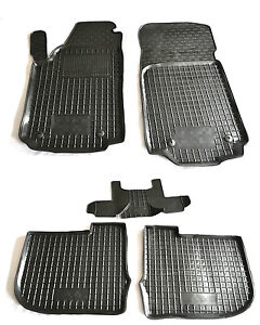 Rubber Carmats for Audi A6 1994-1997 C4 All Weather Floor Mats Fully Tailored