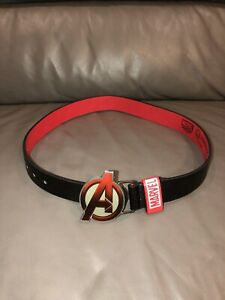 ❤️Official Marvel Avengers Metal Buckle Belt  Boys Approx 3-6 Years❤️