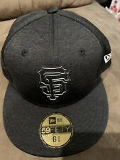 San Francisco Giants Fitted Sz 6-3/4 New Era 5950 Club House Collection-KIDS