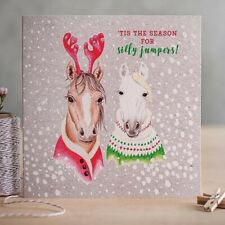 Christmas Cards Festive Frolics (Pack of 6) - Let it Snow & Silly Jumpers