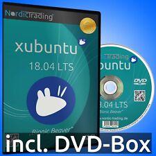 Xubuntu 18.04.5 LTS 32bit DVD Linux Betriebssystem Markenware