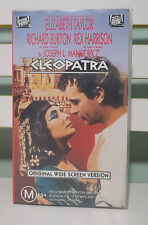 Cleopatra Original Widescreen Version Vhs Video Fox Video Two Tapes!