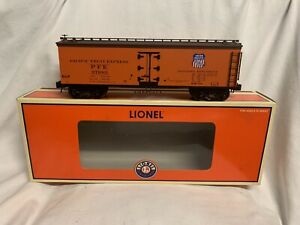 ✅LIONEL PFE PACIFIC FRUIT EXPRESS WOOD SIDE REEFER CAR 6-27361 UNION SOUTHERN UP