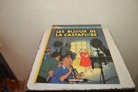 LIVRE BD AVENTURES TINTIN  LES BIJOUX DE LA CASTAFIORE CASTERMAN HERGE 1987