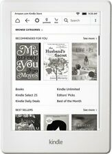 Amazon Kindle (8th Generation) 4GB, Wi-Fi, 6in - White