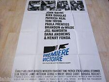 john wayne  PREMIERE VICTOIRE   !  affiche cinema