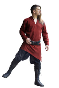 Medieval Celtic Viking Tunic Full Sleeves renaissance shirt SCA Larp